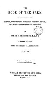 Cover of: The book of the farm by Henry Stephens