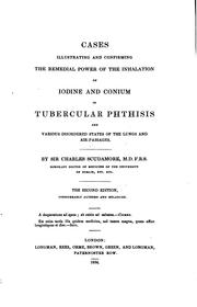 Cover of: Cases Illustrating and Confirming the Remedial Power of the Inhalation of ..