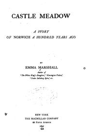 Cover of: Castle Meadow: A Story of Norwich a Hundred Years Ago