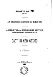 Cover of: Cacti in New Mexico