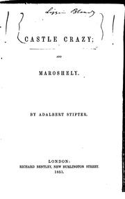 Cover of: Castle Crazy ; and, Maroshely