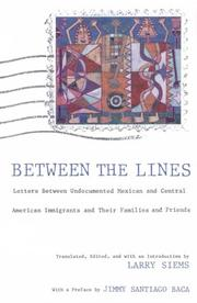 Cover of: Between the Lines | Larry Siems