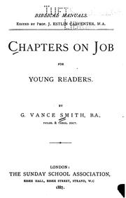 Cover of: Chapters on Job for Young Readers | George Vance Smith