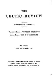Cover of: The Celtic Review | Donald Mackinnon
