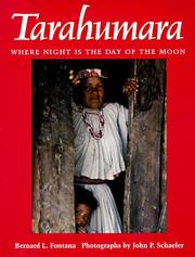 Cover of: Tarahumara by Bernard L. Fontana