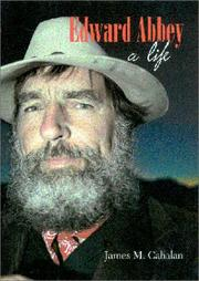 Cover of: Edward Abbey