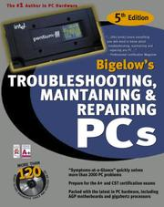 Cover of: Troubleshooting, maintaining & repairing PCs