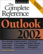 Cover of: Outlook 2002 | Thomas E. Barich