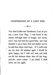 Cover of: The confessions of a lost dog