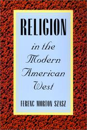 Cover of: Religion in the Modern American West