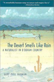 Cover of: The Desert Smells Like Rain