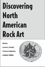Cover of: Discovering North American rock art