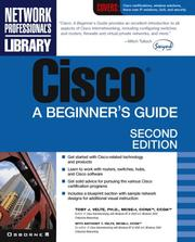 Cover of: Cisco | Toby J. Velte
