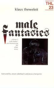 Cover of: Male Fantasies, Volume 2 | Klaus Theweleit