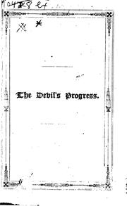 Cover of: The Devil's Progress: A Poem