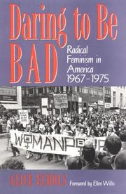 Cover of: Daring to be bad