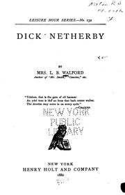 Cover of: Dick Netherby