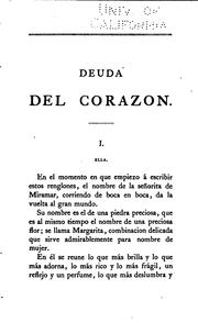 Cover of: Deuda del corazon: Novela original