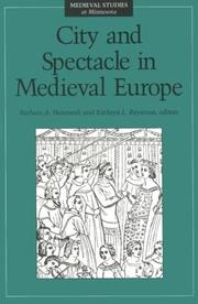 Cover of: City and spectacle in medieval Europe