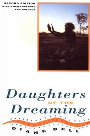 Daughters of the dreaming by Diane Bell
