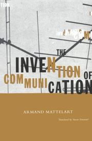 Cover of: The invention of communication