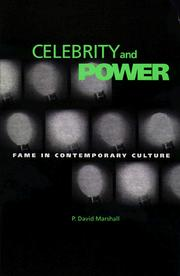 Cover of: Celebrity and power