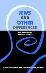 Cover of: Jews and Other Differences |