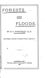 Cover of: Forests and Floods