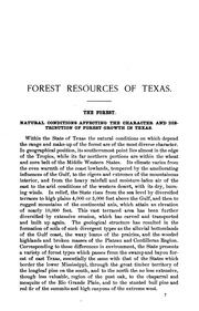 Cover of: Forest Resources of Texas