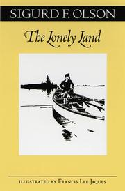 Cover of: The lonely land
