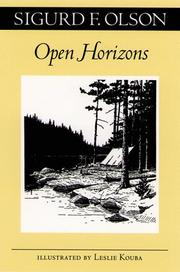 Cover of: Open horizons