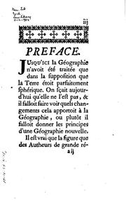 Cover of: Elements de geographie