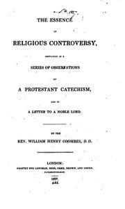 The essence of religious controversy, a series of observations on a Protestant catechism