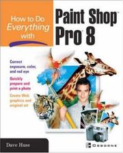 Cover of: How to do everything with Paint Shop Pro 8