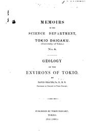 Cover of: ... Geology of the Environs of Tokio