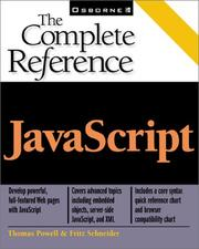 Cover of: JavaScript