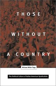 Cover of: Those Without a Country