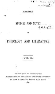 Cover of: Further Notes on the Names of the Letters: (Vol. Ii. Studies and Notes). | Edward Stevens Sheldon