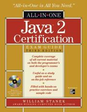 Cover of: Java 2 certification exam guide