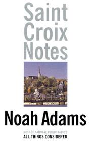 Cover of: Saint Croix notes