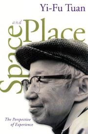 Cover of: Space and Place | Yi-Fu Tuan
