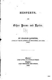 Cover of: Hesperus, and other poems and lyrics
