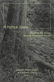Cover of: A Political Space |