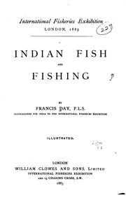 Cover of: Indian Fish and Fishing