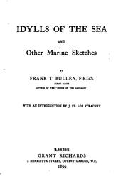 Cover of: Idylls of the Sea and Other Marine Sketches