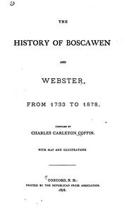 Cover of: The History of Bascawen and Webster