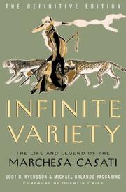 Cover of: Infinite variety