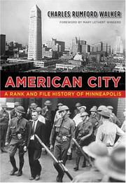 Cover of: American city