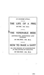 Cover of: How to Make a Saint: Or, The Process of Canonization in the Church of England | Thomas De Longueville