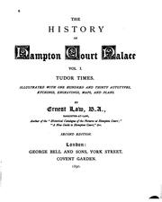Cover of: The history of Hampton Court Palace